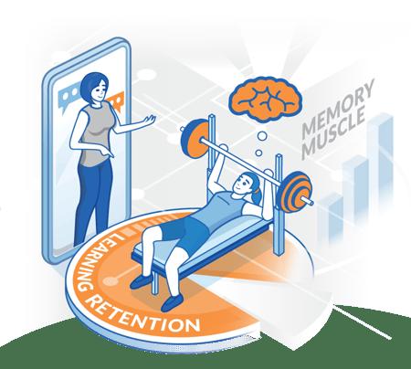 Micro-learning. Super-easy, super-flexible, super-effective.